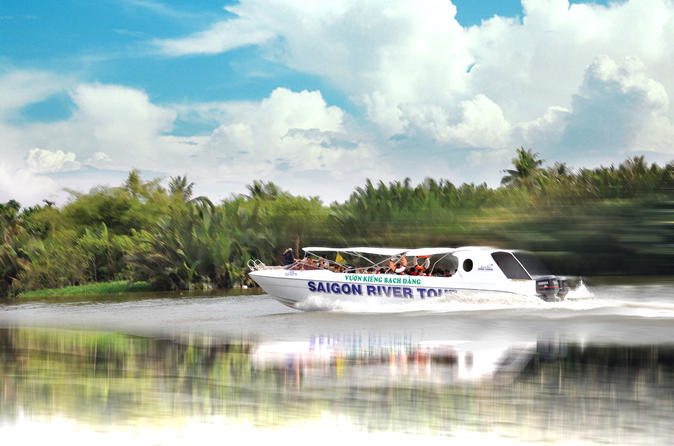 Half day cu chi tunnels by luxury speedboat in ho chi minh city 599282
