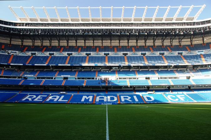 Entrance ticket to bernabeu tour in madrid 137428