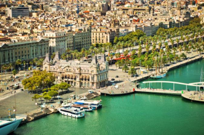 Excursão supereconômica em Barcelona: Excursão com teleférico Montjuic e Excursão a Montserrat