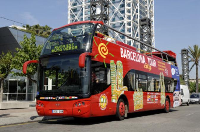 Excursão terrestre por Barcelona: Excursão em ônibus panorâmico pela cidade de Barcelona