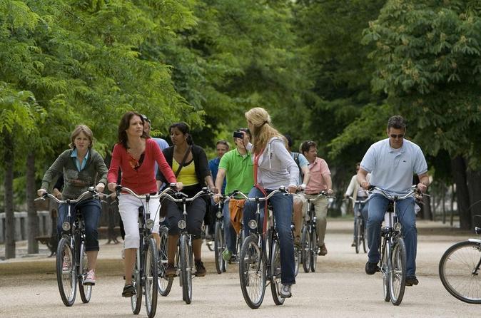 Madrid bike tour in madrid 43062
