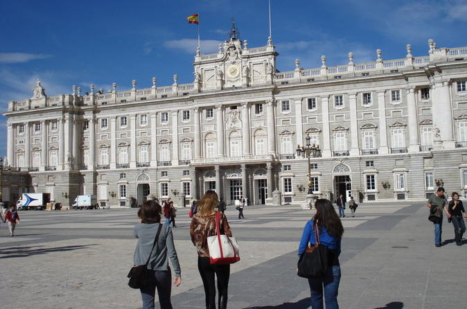 Madrid City Sightseeing and Skip the Line Royal Palace Guided Tour