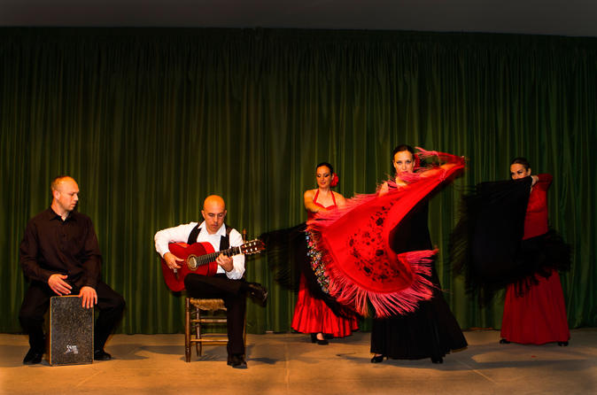 madrid flamenco show with evening sightseeing tour and