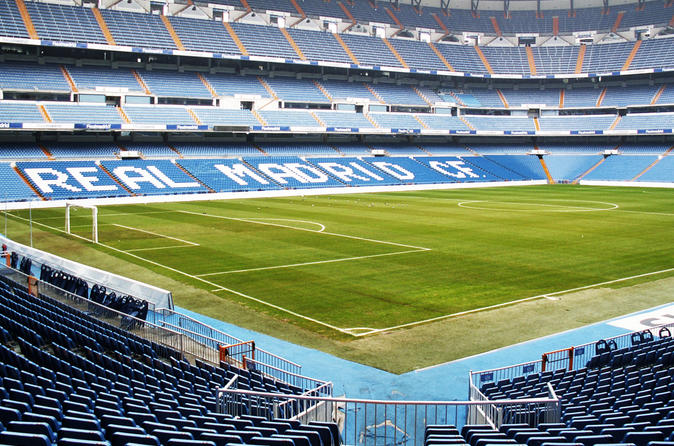 Madrid Highlights Tour with Santiago Bernabeu Stadium Entrance