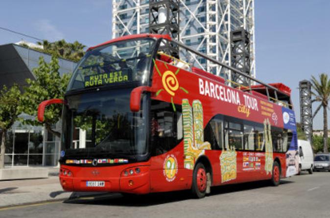 Shore Excursion: Barcelona City Tour Hop-On Hop-Off