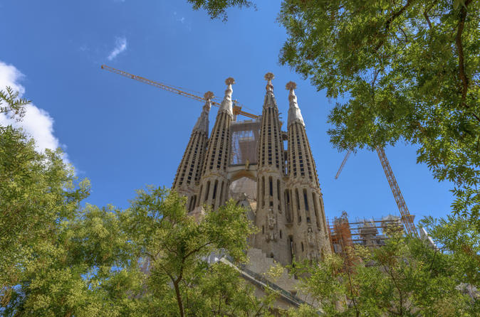 Skip the line barcelona sagrada familia tour including tower entry in barcelona 173563
