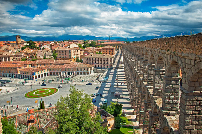 Toledo and Segovia On Your Own Guided Walking Tours Full Day