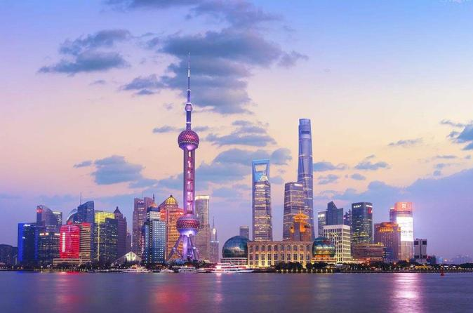 Shanghai Half-day Tour including The Bund & Xintiandi With English Driver Guide