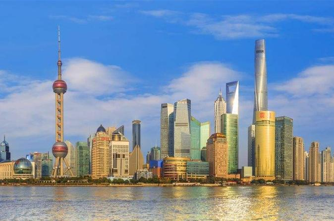 Shanghai Highlights & Water Village Day Tour Including The Boat Ride
