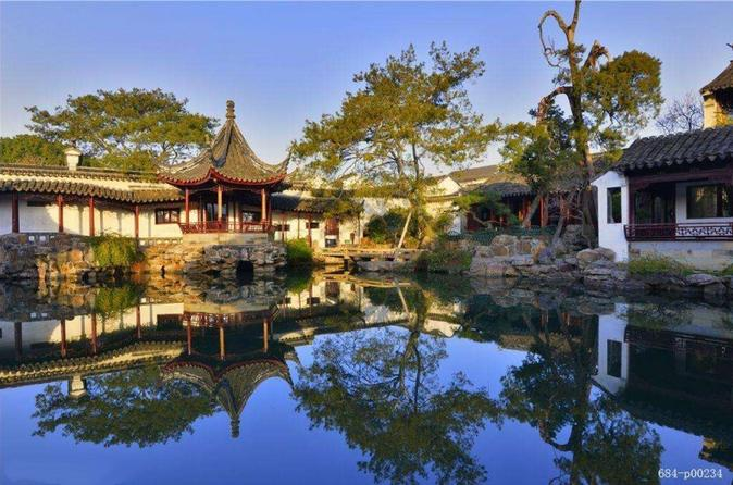 Suzhou Highlights & Water Village Day Tour Including The Boat Ride From Shanghai