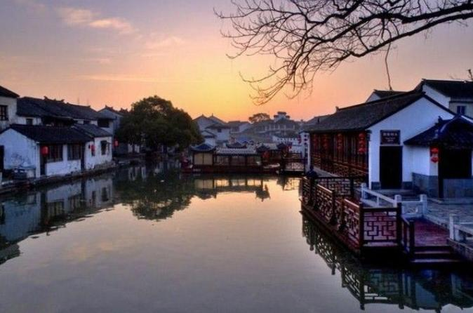 Tongli Water Village Tour From Shanghai Including The Boat Ride & Tuisi Garden