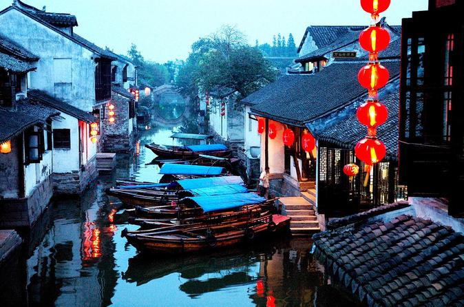 Zhouzhuang Water Village Tour From Shanghai Including The Boat Ride
