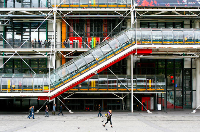 Centre Pompidou Priority-Access Ticket in Paris