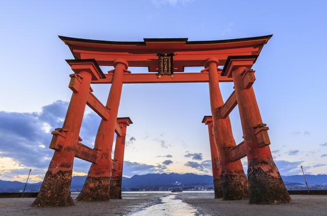 2-Day Hiroshima Tour from Osaka Including Miyajima and Okayama