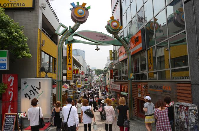 Excursão a pé para ver a moda de Harajuku