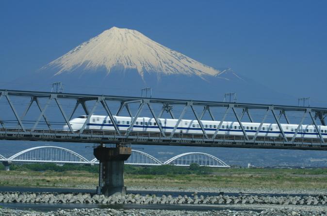 Excursão de trem-bala por Quioto e Nara, com duração de 2 ou 3 dias, saindo de Tóquio
