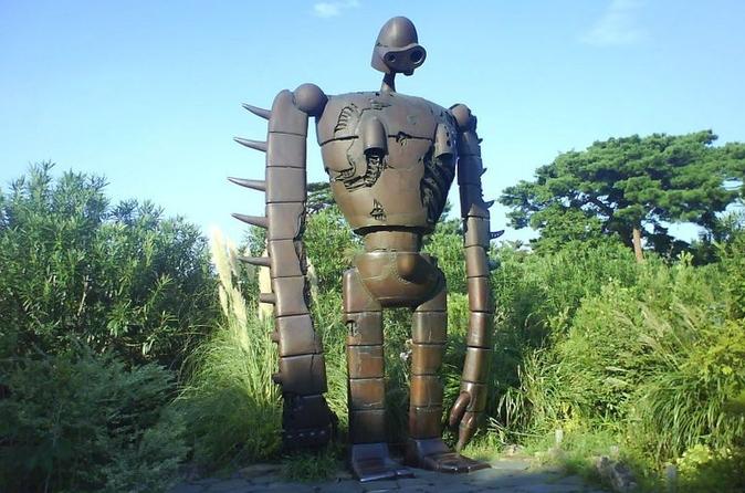 Excursão à tarde pelo Museu Ghibli de Tóquio