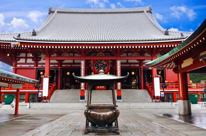 Excursão turística à Tokyo Skytree, ao templo Asakusa e ao centro de Tóquio