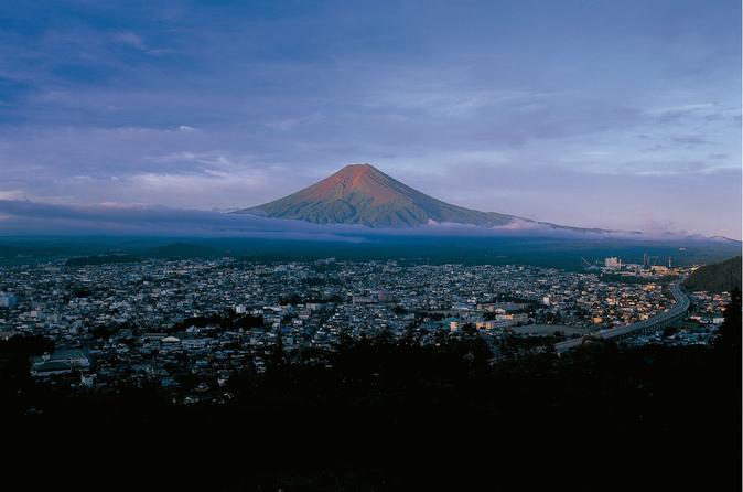 Experiência de onsen e pernoite no Monte Fuji saindo de Tóquio