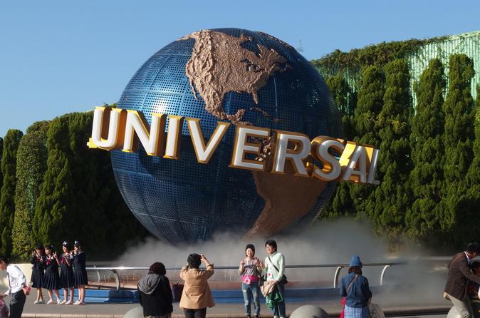 Experiência Noturno no Universal Studios Japão saindo de Tóquio por Trem Bala