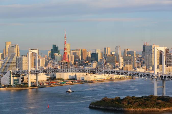 Tokyo day tour meiji shrine asakusa temple and tokyo bay cruise in tokyo 138895