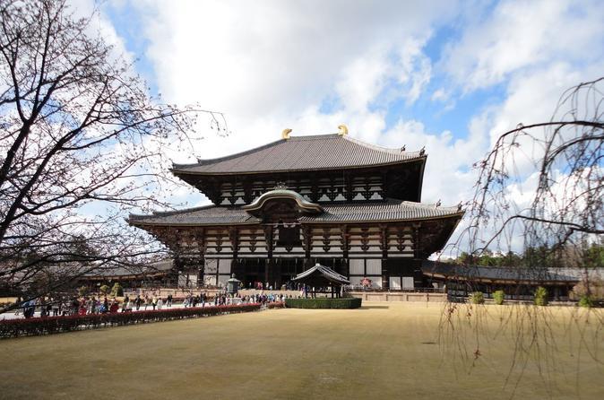 Viagem diurna por Quioto e Nara saindo de Quioto e incluindo o castelo de Nijo