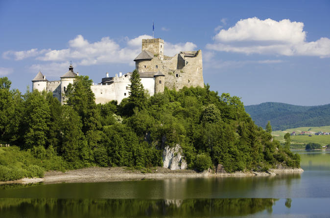 Dunajec River Gorge and Niedzica Castle from Krakow