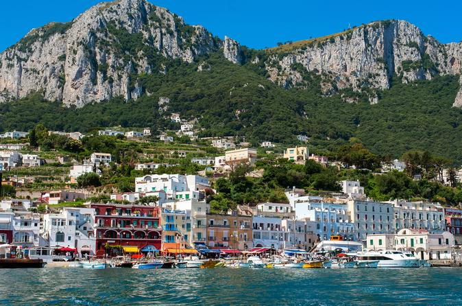 CAPRI EXCURSION INCLUDING THE BLUE GROTTO OPTION FROM NAPLES