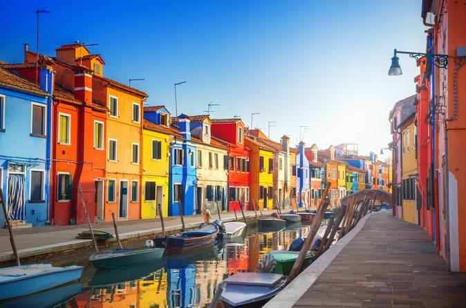MURANO And BURANO ISLAND TOUR With GLASS OF WINE - Venice