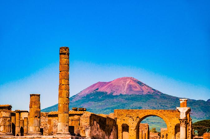 POMPEII, POSITANO AND AMALFI COAST CRUISE FROM ROME BY HIGH-SPEED TRAIN