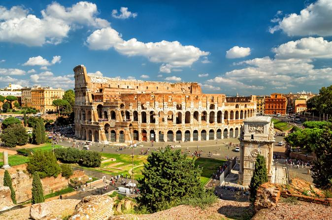 SHOW & GO COLOSSEUM, PALATINE HILL AND ROMAN FORUMS