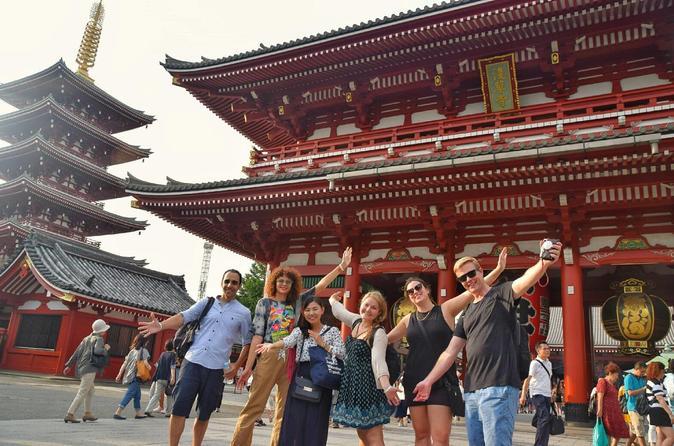 Excursão a pé privada de dia inteiro personalizada em Tóquio