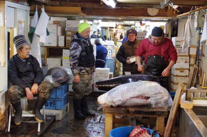Half-day Food and Drink Walking Tour in Tsukiji and Asakusa