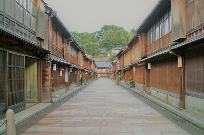 Kanazawa highlight private walking tour