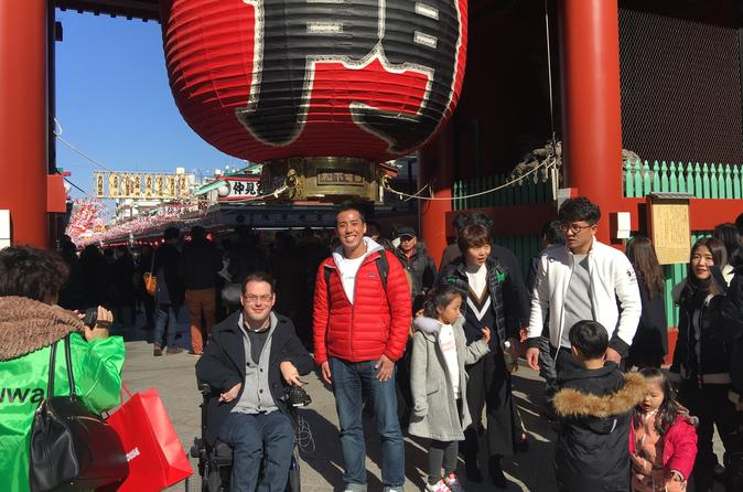 Tokyo Full-Day Wheelchair Accessible Highlights Tour