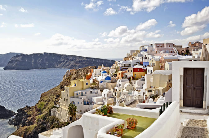 Santorini first impressions private tour in thira 289114