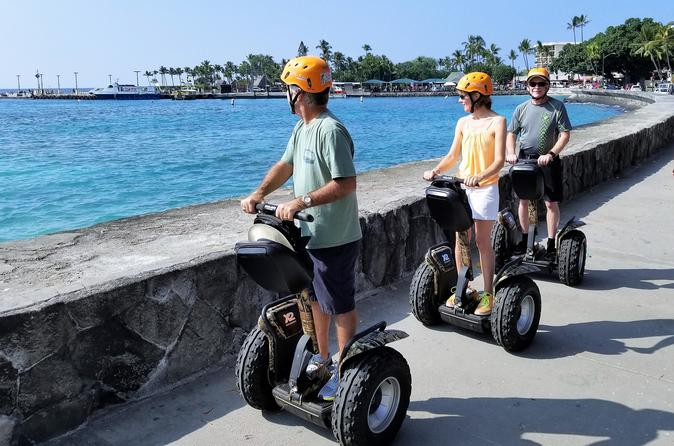 Kailua-Kona Segway Historic Kona Town Tour - 120 Minutes - Rating: EASY To MODERATE (due To Duration) - Hawaii Volcanoes National Park