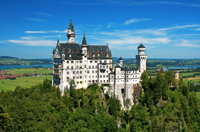 4-Day Munich to Frankfurt - Romantic Road, Linderhof, Hohenschwangau, Neuschwanstein
