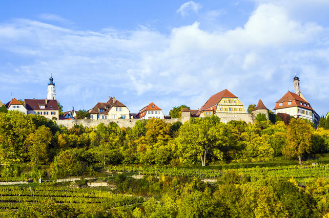 Overnight Munich to Frankfurt - Romantic Road, Rothenburg
