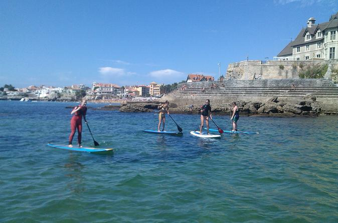 Cascais stand up paddleboard lesson and cruise in cascais 256629
