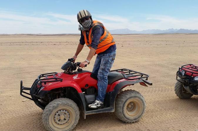Desert Quad Bike Safari to Bedouin Village from Hurghada  Egypt, Africa