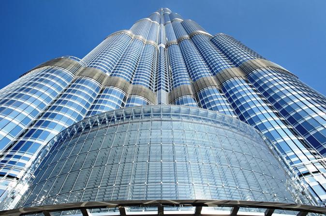 Burj Khalifa At The Top 125th Floor The Dubai Fountain