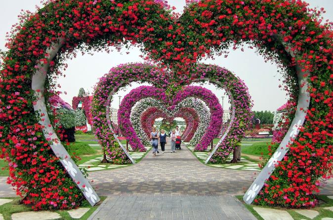 Dubai Fairyland Sights: Miracle Gardens, The Butterfly Garden and Global Village