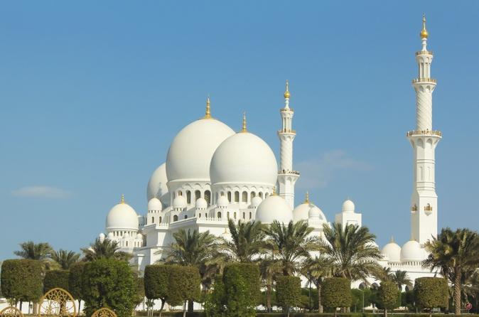 Excursão turística à cidade de Abu Dhabi - A Joia Árabe