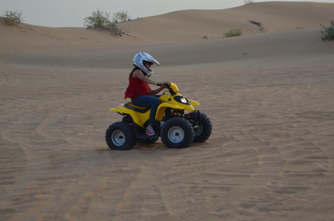 Sultans of Sands Desert Quad Bike Riding From Dubai