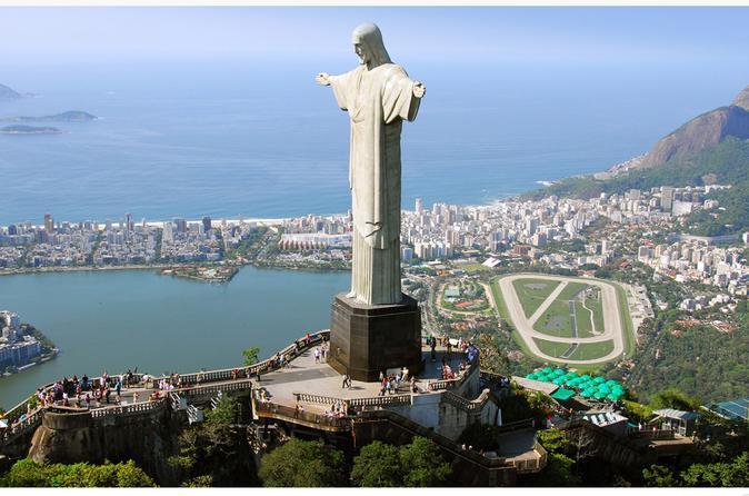 Excursão turística de meio dia no Rio de Janeiro