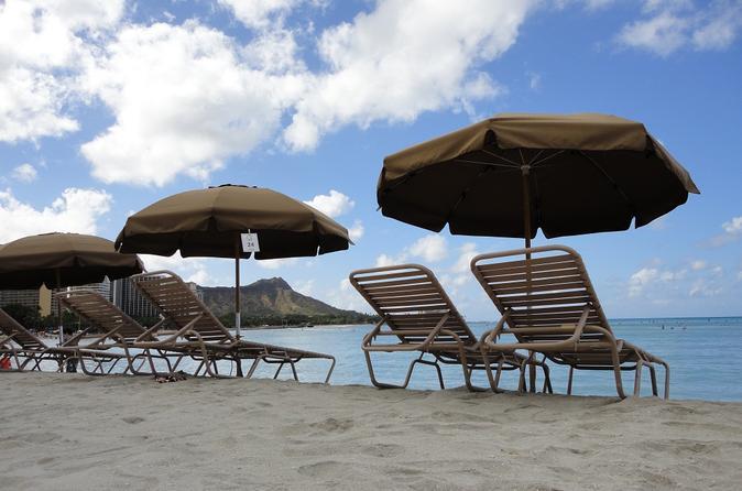 Beach Umbrella And Chair Set Al