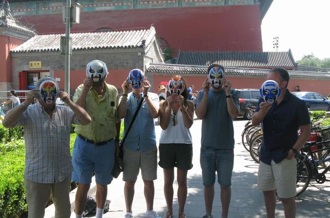 3-Hour Hutong Walking Tour And Peking Opera Mask Painting Class