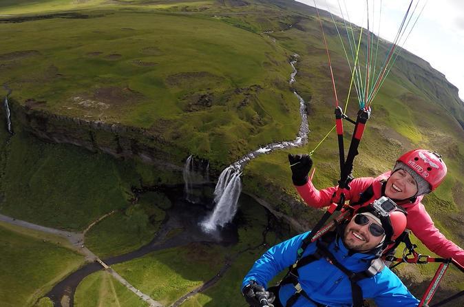 Paragliding tandem experience from v k m rdal in vik 330672