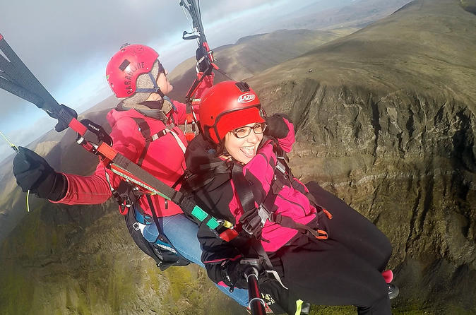 Tandem Paragliding Experience from Reykjavík